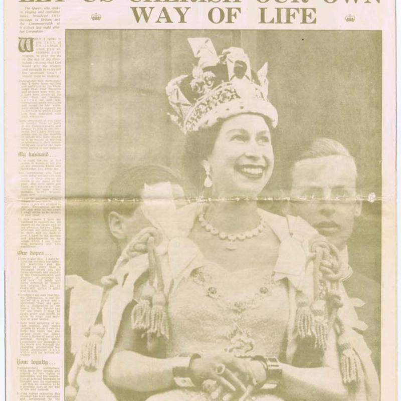 Daily Mail The Golden reprint  -  3 june 1953