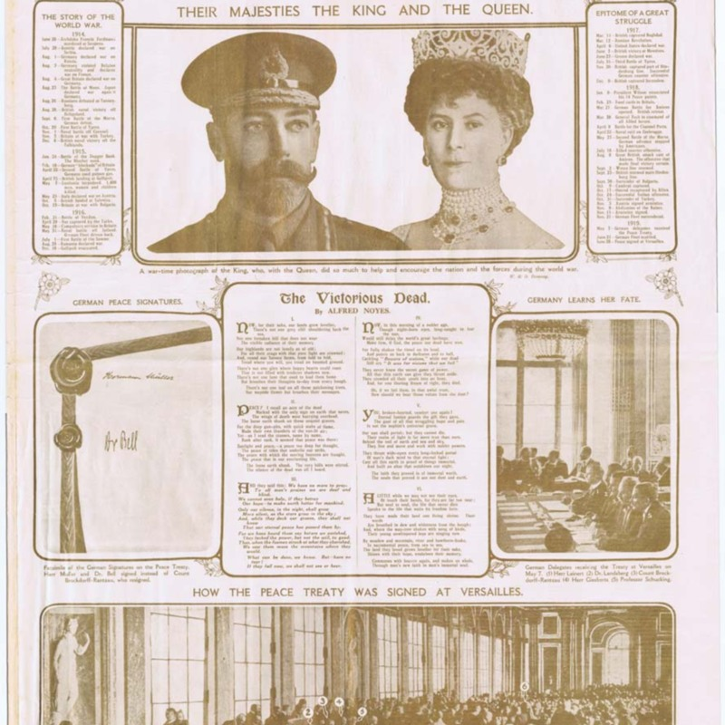 Daily Mail Golden Peace Number  -  30 june 1919